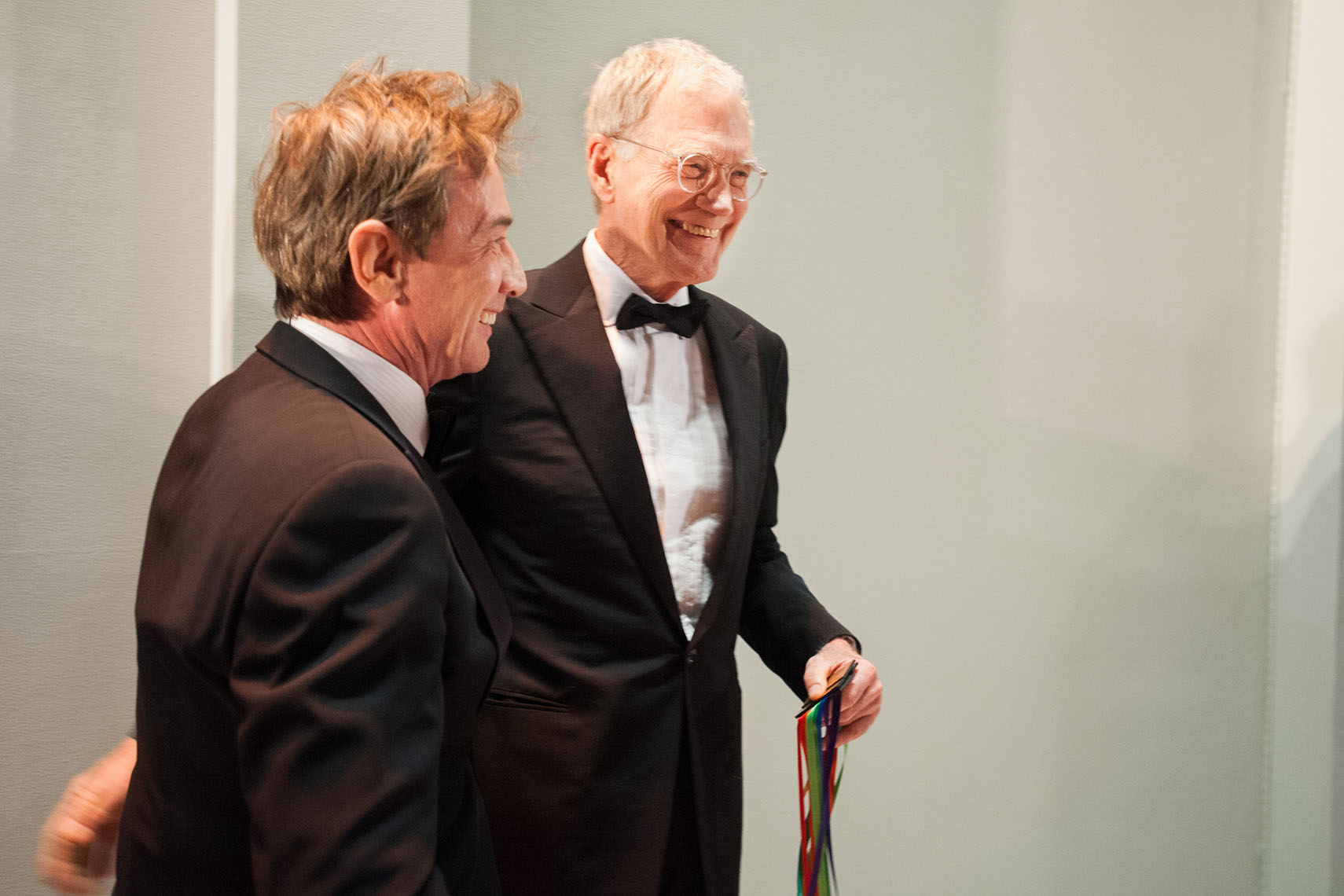 Martin Short and David Letterman